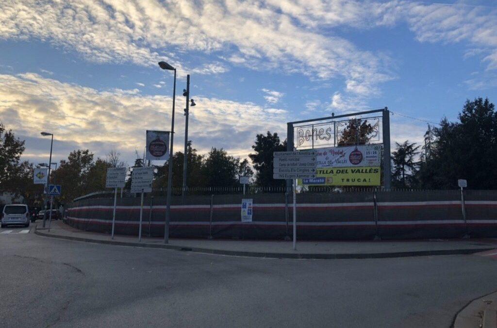 Comencen les obres al Parc de Maria Lluïsa… i a tot arreu!